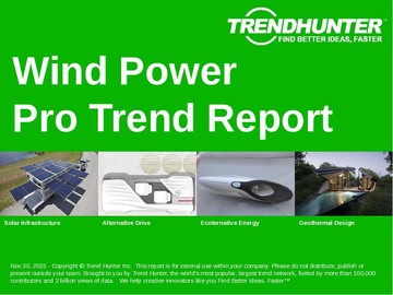 Wind Power Trend Report and Wind Power Market Research