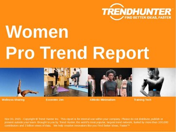 Women Trend Report and Women Market Research