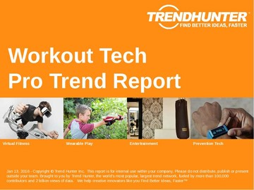Workout Tech Trend Report and Workout Tech Market Research