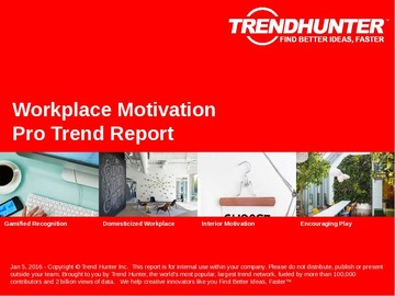 Workplace Motivation Trend Report and Workplace Motivation Market Research