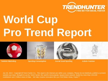 World Cup Trend Report and World Cup Market Research