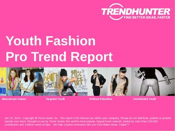 Youth Fashion Trend Report and Youth Fashion Market Research