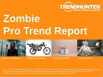 Zombie Trend Report and Zombie Market Research