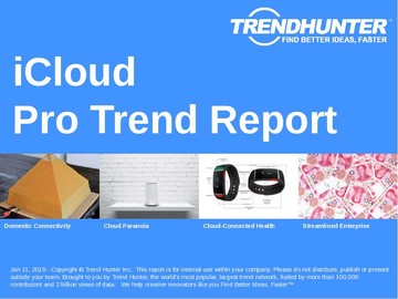 iCloud Trend Report and iCloud Market Research