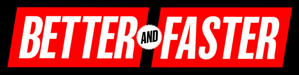 Better and Faster Logo