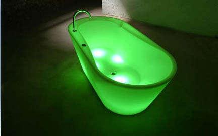 Generate Light: LTT Illuminated Bathtub & Furniture