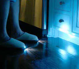 BrightFeet Lighted Slippers (For Chasing Your Cat?)