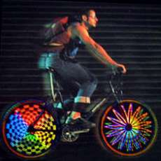Hokey Spokes Illuminated Artwork For Your Bike Wheels