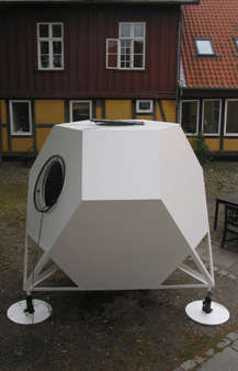 Astro Abodes - Micro Dwelling Makes a Stellar Addition to the Home