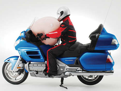 First Mainstream Motorcycle With Airbag
