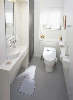 The Intelligent Toilet.  Receive a medical check-up while doing your business.
