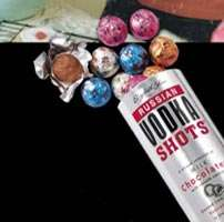 Chocolate Vodka Shots - Tasty!