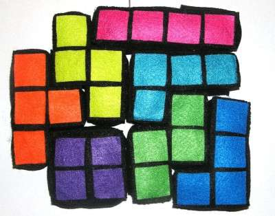 Plush Tetris Blocks