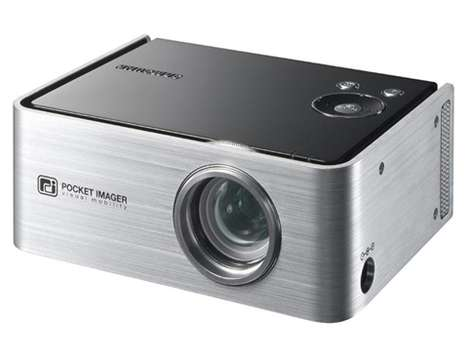 Samsung SP-P300ME Pocket Projector - Just 1.5 Pounds!