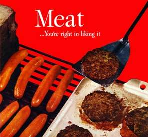 Pro Meat Vintage Ad