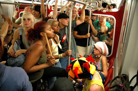 Insane Party Locations - Subway Shindigs Take Public Parties Underground
