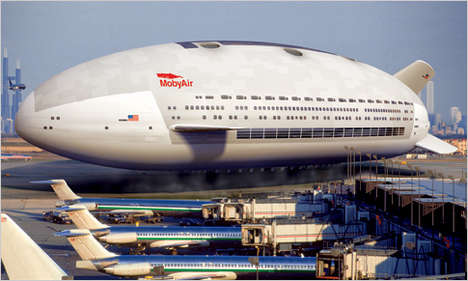 Flying Hotels - Luxury Blimp Offers Mile-High 5-Star Accommodations