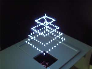 3D-Images in the Air Using Laser Plasma