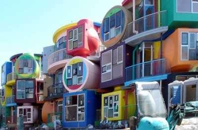 Hip Japanese Apartment Block / Lofts