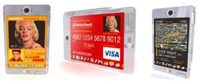 Future Phone with Integrated Credit Card and Media Player