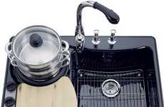 KOHLER PRO CookCenter - A Sink that's a Stove