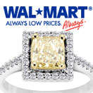 Luxury Yellow Diamonds, $10K Plus - At WALMART!