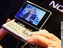 Nokia Introduces Idea of TV-Embedded Mobiles