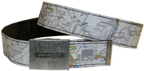 A Belt Made Of Recycled Materials