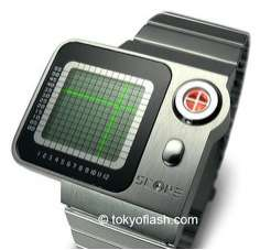 SCOPE - Nerdy Watch Tells Time on a Grid