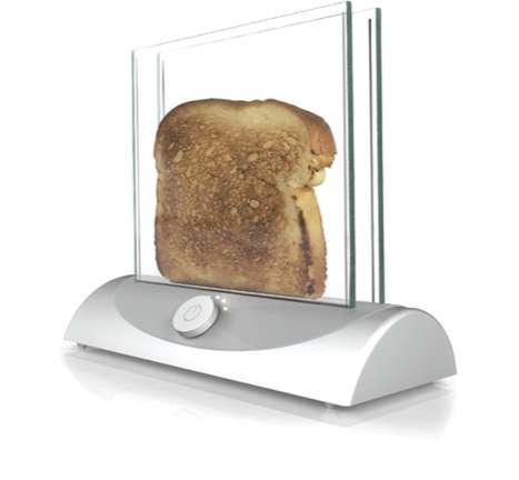 Transparent Toaster Design