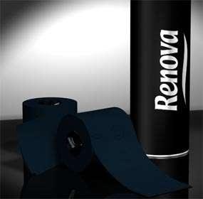 Renova Black & Red Toliet Paper