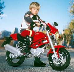 Mini Ducati Motorcycle for the Kids