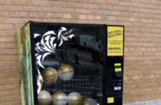 Soccer Ball Vending Machine