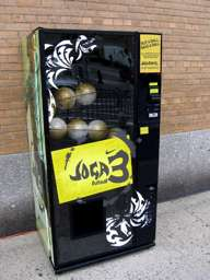 Soccer Ball Vending Machine - Nike Joga3 in NYC