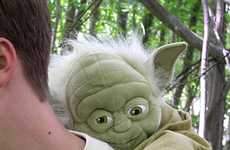 Plush Yoda Backpack