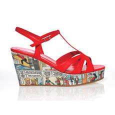 High Fashion Heels With Cartoons