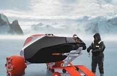 Antarctic Exploration Concept Vehicle for Two