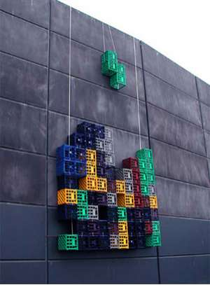 Video Games in the Real World - Real Life Tetris