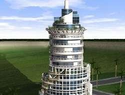 Rotating Tower in Dubai