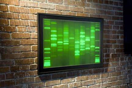 Your DNA as Art - DNA GloFrame