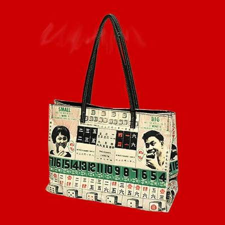 Chinese Roulette Tote Bag by Goods of Desire