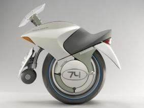 Bombardier Embrio One-Wheel Concept Hybrid Motorcycle