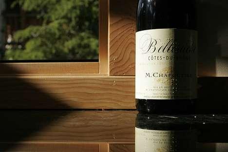 Braille Wine Bottle