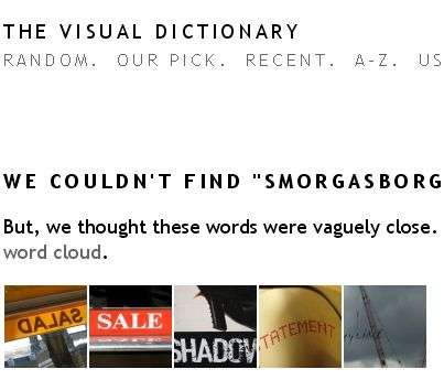 The Visual Dictionary