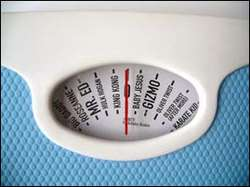 Celebrity Weighing Scale