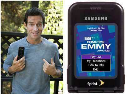 EMMY Award Contest - Compete with Jeff Probst on your Wireless Phone