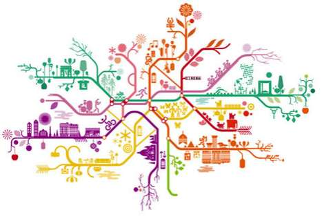 Paris Metro Art