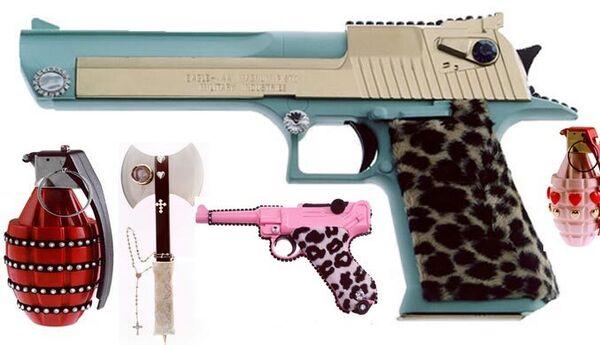 Designer Ladies Weapons by Antonio Riello: