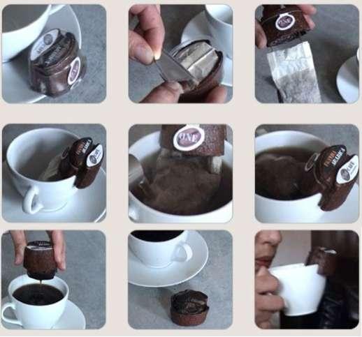 Convenience Coffee In A Tea Bag