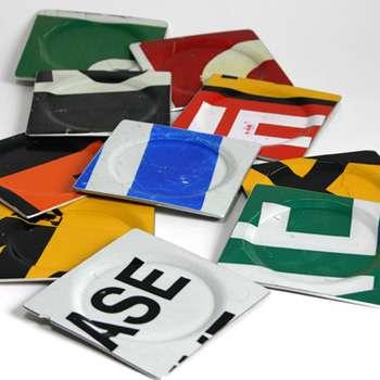 Street Sign Coasters